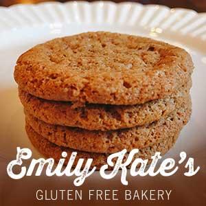 EmilyKate GLUTEN FREE Gingersnaps (Qty - 12)